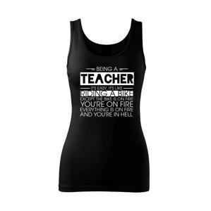 Being a teacher - bike - Tielko triumph