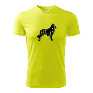 Belgický ovčiak - Pánske tričko Fantasy športové