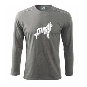 Belgický ovčiak - Tričko s dlhým rukávom Long Sleeve