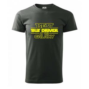 Best bus driver in galaxy - Heavy new - tričko pánske