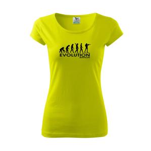 Biathlon - Evolúcia biatlonu - Pure dámske tričko