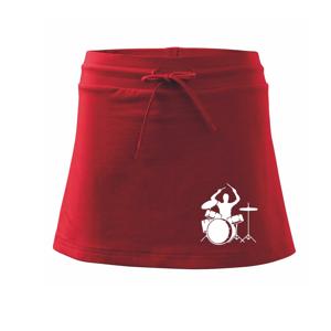 Bicie bubeník - Športová sukne - two in one