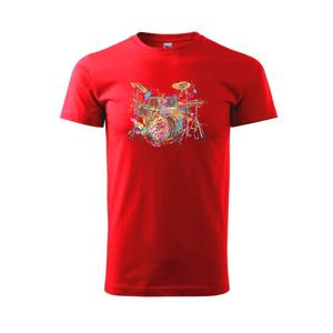 Bicie farebné splash - Tričko Basic Extra veľké