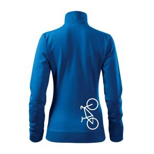 Bicykel na výšku - Mikina dámska Viva bez kapucne