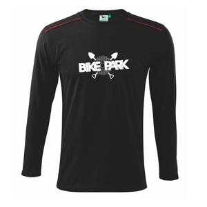 Bike park kazeta - Tričko s dlhým rukávom Long Sleeve