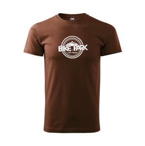 Bike park vlastný názov - Heavy new - tričko pánske