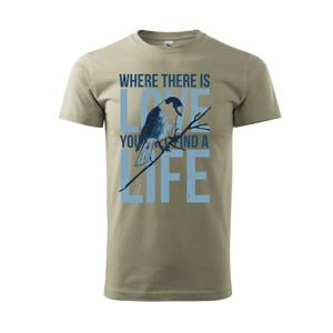 Bird love - Tričko Basic Extra veľké
