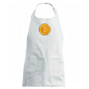 Bitcoin mince - Zástěra na vaření