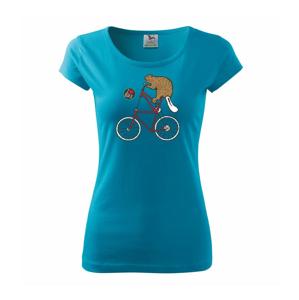 Bobor na bicykli - Pure dámske tričko