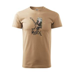 Born to rock tiger - Heavy new - tričko pánske