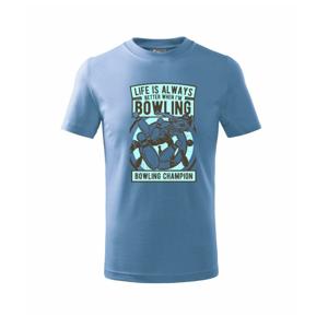 Bowling Champion - Tričko detské basic