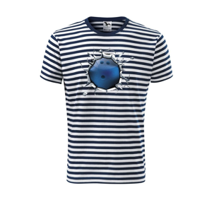Bowling gule v triku - Unisex tričko na vodu