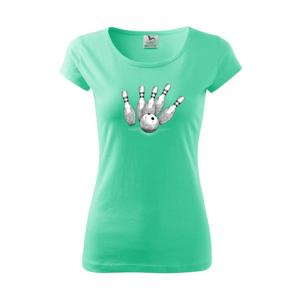 Bowling kresba - Pure dámske tričko
