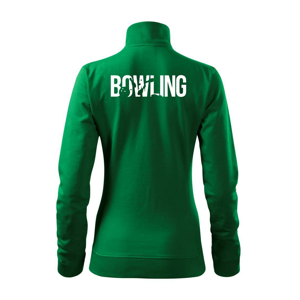Bowling nápis kolky - Mikina dámska Viva bez kapucne