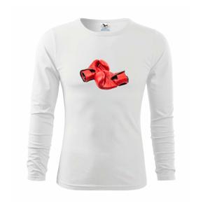 Boxerske rukavice červené - Tričko detské Long Sleeve