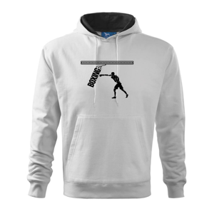Boxing boxer - Mikina s kapucňou hooded sweater