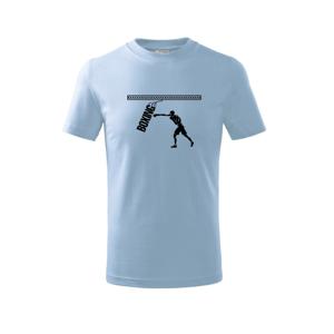 Boxing boxer - Tričko detské basic