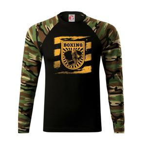 Boxing vo štvorci - Camouflage LS