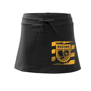 Boxing vo štvorci - Športová sukne - two in one