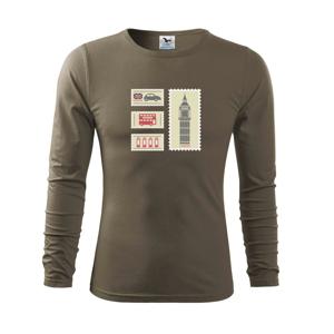 Britská známky - Tričko s dlhým rukávom FIT-T long sleeve