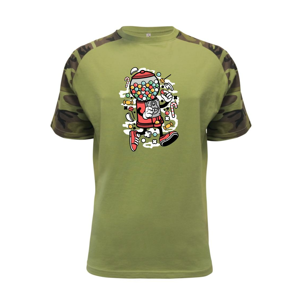 Bubble gum man - Raglan Military
