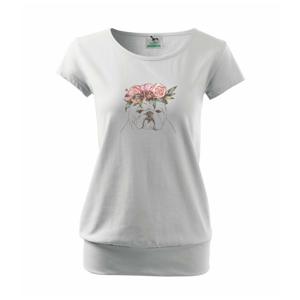 Buldoček princezná - Voľné tričko city