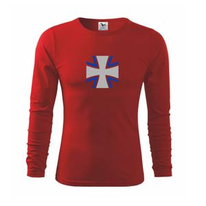 Bundeswehr kríž farebný - Tričko s dlhým rukávom FIT-T long sleeve