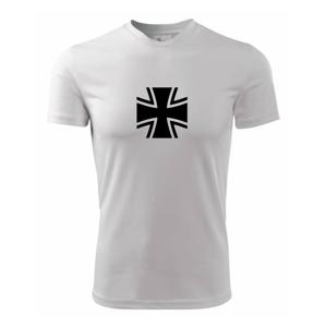 Bundeswehr kríž - Pánske tričko Fantasy športové