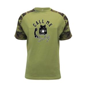 Call Me Baby telefón - Raglan Military