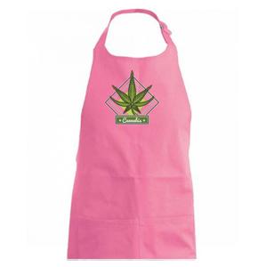 Cannabis list kosoštvorec - Zástěra na vaření
