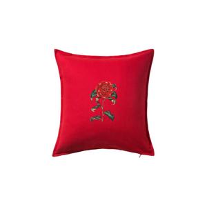 Červená kamélia  - Vankúš 50x50