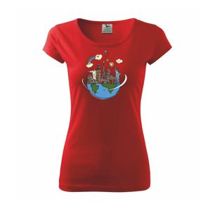 Cesta okolo sveta - Pure dámske tričko
