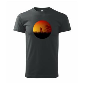 Cesta poľom - Heavy new - tričko pánske