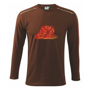 Cestné moto splash - Tričko s dlhým rukávom Long Sleeve