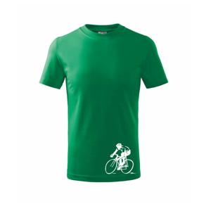 Cestný cyklista - Tričko detské basic