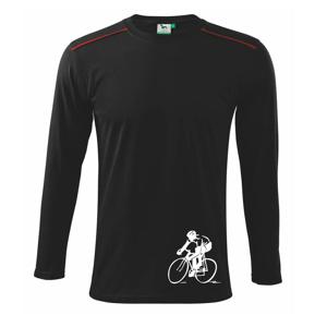 Cestný cyklista - Tričko s dlhým rukávom Long Sleeve