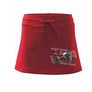 Cestovná enduro červená - Športová sukne - two in one