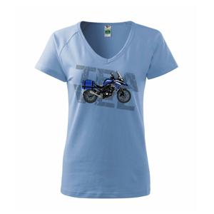 Cestovná enduro modrá - Tričko dámske Dream