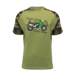 Cestovná enduro zelená - Raglan Military