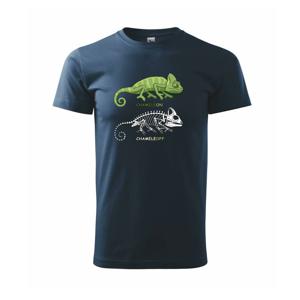 ChameleON_OFF (Hana-creative) - Tričko Basic Extra veľké