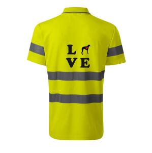 Chrt love - HV Runway 2V9 - Reflexné polokošeľa