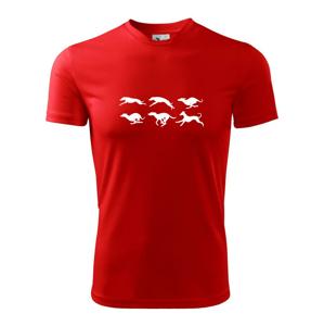 Chrt Pohyb - Pánske tričko Fantasy športové