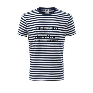 Čiarový kód - Vlastný text - Unisex tričko na vodu