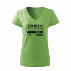 Čiarový kód - Vodič električky / vodička električky - Tričko dámske Dream