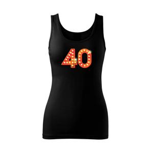 Čísla žiarovky 40 - Tielko triumph