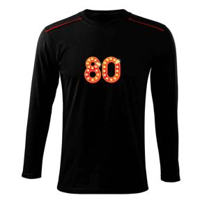 Čísla žiarovky 80 - Tričko s dlhým rukávom Long Sleeve