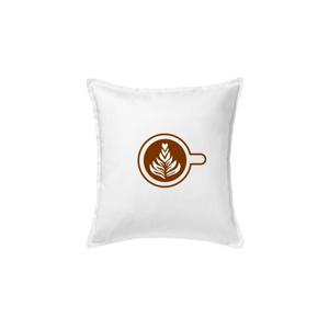 Coffee art - Vankúš 50x50