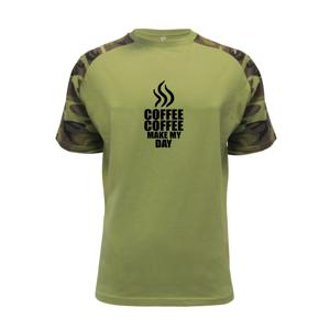 Coffee makes my day - Raglan Military