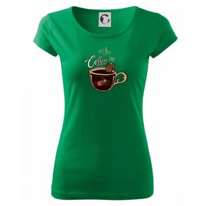 Coffee time bath (Pecka design) - Pure dámske tričko