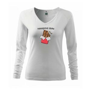 Čokoláda naozajstná láska - Tričko dámske Elegance